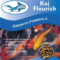 Thrive Koi Nutrition - Koi Flourish Growth Formula, 5 LB