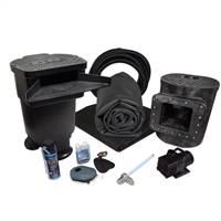 Savio Signature 3000 with UV Complete Water Garden and Pond Kit, with 15 x 15 Foot EPDM Rubber Liner