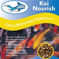 Thrive Koi Nutrition - Koi Nourish Cool Water Diet with Wheat Germ Formula, 5 LB