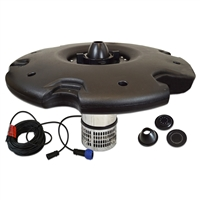 "Anjon Manufacturing - AEF15000-50QD - EcoFountain with 36"" Float with 3 nozzles and 1/2 HP Pump with 50' Quick-Disconnect Cord"
