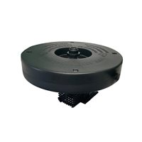 "Aqua Marine 1/4 HP Floating Fountain Kit with 5 Spray Patterns 36"" Float and 3,000 GPH Pump-100' Cord l Half Off Ponds"