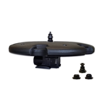"AQF6100-100 - Aqua Marine Floating Fountain with 36"" Float and 6,100 GPH Pump with 100' Cord"