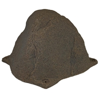 HRC-RB Riverbed Brown Faux Rock Cover for Diaphragm Aeration Pumps