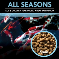 All Season Formula Koi and Goldfish Food 30 lbs. Bag - KOIAS-030