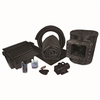 MAN4 - 15' x 15' Simply Ponds 4000 Medium EPDM Pond Kit