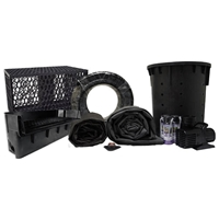 PLANB0 - Simply Pond Free 6100 Waterfall Kit with MatrixBlox with 15' x 30' EPDM Liner and 6,100 GPH Pump