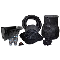 PLS90 - Savio Pond Free 6100 Waterfall Kit with 10' x 20' EPDM Liner and 6,100 GPH Pump
