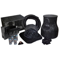 PLSB8 - Savio Pond Free 6100 Waterfall Kit with MatrixBlox with 10' x 25' EPDM Liner and 6,100 GPH Pump