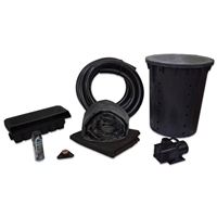 PMAN0 - Simply Waterfalls 4000 Waterfall Kit with 15' x 25' EPDM Liner and and 4,000 GPH Pump