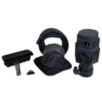 PMDP0 - Pond Free Cascade 4100 Waterfall Kit with 15' x 25' EPDM Liner and 4,100 GPH Pump
