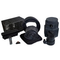 PMDPB0 - Pond Free Cascade 4100 Waterfall Kit with MatrixBlox, 15' x 25' EPDM Liner and 4,100 GPH Pump
