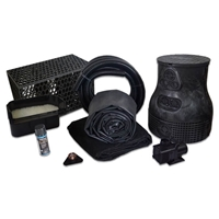 PMDSB0 - Savio Pond Free 4000 Waterfall Kit with MatrixBlox, 15' x 25' EPDM Liner and 4,000 GPH Pump