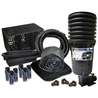 Simply Waterfalls 10000 Pond Free Kit with MatrixBlox, 15' x 50' EPDM Liner and 10,000 GPH Pump - PMTHB0