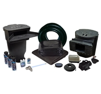 PVCLSUV6  - 15' x 25' Savio Signature Series Large PVC Water Garden and Pond Kit w/ 26-Watt UVinex System, & LL-20K Aeration Kit