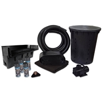 PVCPLAN1 - Simply Pond Free 6100 Waterfall Kit with 15' x 25' PVC Liner and 6,100 GPH Pump