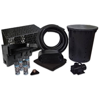 PVCPLANB0 - Simply Pond Free 6100 Waterfall Kit with MatrixBlox with 15' x 30' PVC Liner and 6,100 GPH Pump