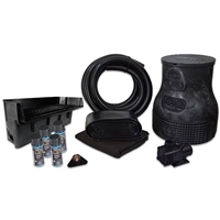 PVCPLS8 - Savio Pond Free 6100 Waterfall Kit with 10' x 25' PVC Liner and 6,100 GPH Pump