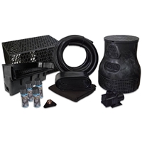 PVCPLSB8 - Savio Pond Free 6100 Waterfall Kit with MatrixBlox with 10' x 25' PVC Liner and 6,100 GPH Pump