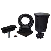 PVCPMAN0 - Simply Waterfalls 4000 Pond Free Kit with 15' x 25' PVC Liner and and 4,000 GPH Pump