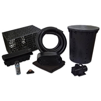 PVCPMANB0 - Simply Waterfalls 4000 Pond Free Kit with MatrixBlox, 15' x 25' PVC Liner and 4,000 GPH Pump