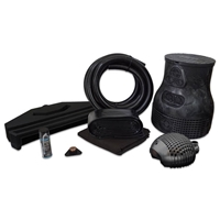 PVCPMBS2 - Pond Free Complete PRO 5000 Waterfall Kit with 10' x 30' PVC Liner and 5,000 GPH Pump