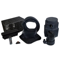 PVCPMDPB0 - Pond Free Cascade 4100 Waterfall Kit with MatrixBlox, 15' x 25' PVC Liner and 4,100 GPH Pump