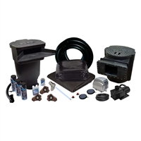 PVCXLSUV0 - 30' x 30' Savio Signature 6100 with UV PVC Pond Kit w/ 50-Watt UVinex System, & LL-45K Aeration Kit