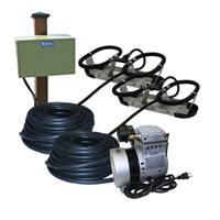 Kasco Marine RA2PM - Robust-Aire Aquatic Aeration System w/ Post Mount Cabinet Mount