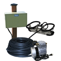Kasco Marine RAH1PM - Robust-Aire Aquatic Aeration System w/ Post Mount Cabinet Mount