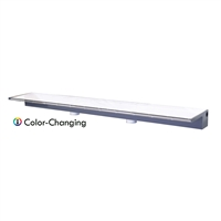 "Sheer Elegance 48"" Color Changing Lighted Acrylic Spillway - SE48CC"
