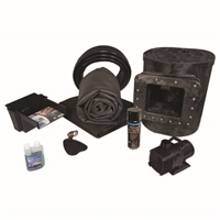 Simply Ponds 1200 EPDM Pond Kit, with 15 x 15 Foot EPDM Rubber Liner X8-0