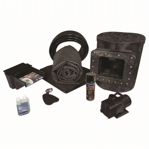 Simply Ponds 1200 EPDM Pond Kit, with 10 x 15 Foot EPDM Rubber Liner X8-1
