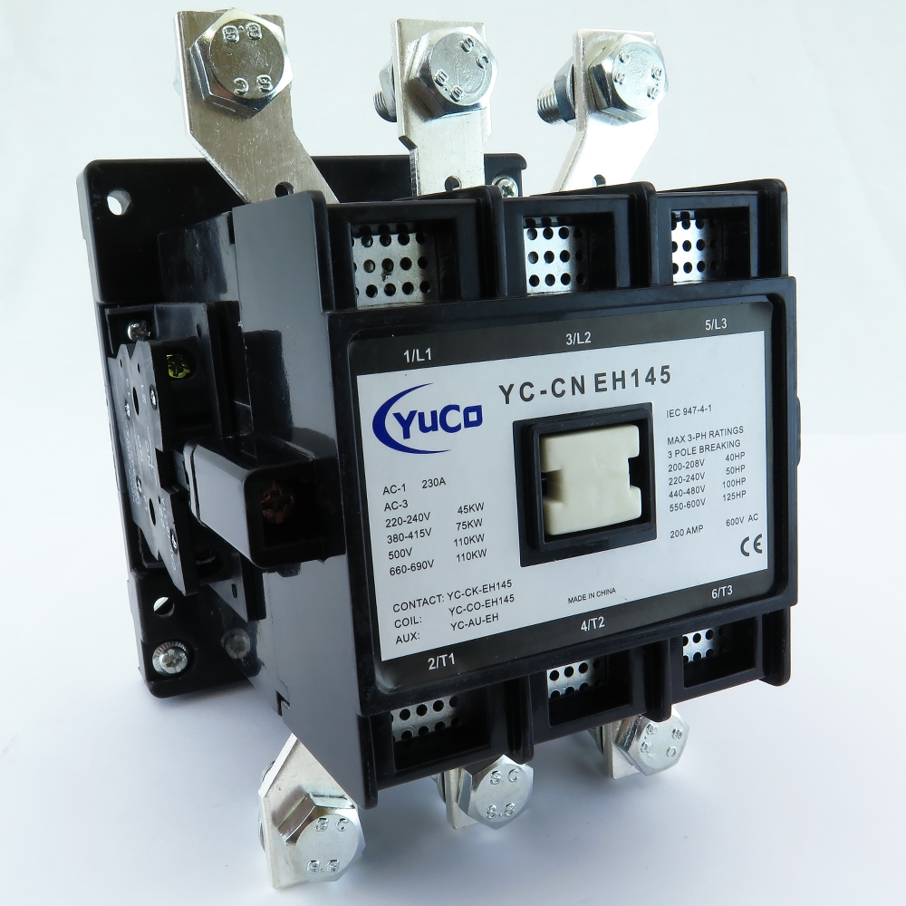 YUCO YC-CN-EH145-9 FITS ABB / ASEA EH145C-4 440V MAGNETIC CONTACTOR