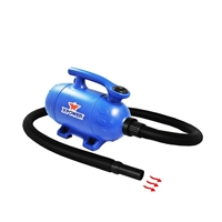 XPOWER B-3 Mobile Groom 2 HP Dog Grooming 2-in-1 Force Pet Dryer & Vacuum