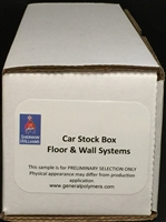 Car Stock Box for Floor and Wall Systems
