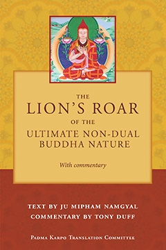 The Lion's Roar of the Ultimate Non-Dual Buddha Nature