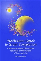Meditator's Guide to Great Completion; Thorough Cut Teachings of Mingyur Rinpoche
