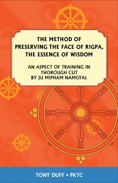 The Method of Preserving the Face of Rigpa