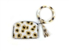 Clutch W/ Key Chain Ring W/ Tassel