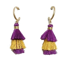 Mini Duster Tassel Earrings