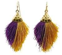 Mini Tassel Hook Earrings