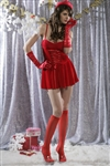 Wholesale Holiday dress with hat, gloves, and stockings