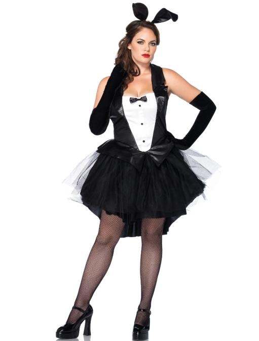 Wholesale Plus size Tux & Tails Bunny Costume ...