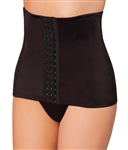 Wholesale Waist Cincher with front hook eye closure that shapes tummy and waist line