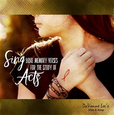 Acts: Bible Memory Cd