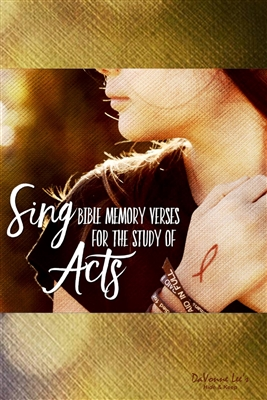 Acts: Bible Memory Teaching DVD