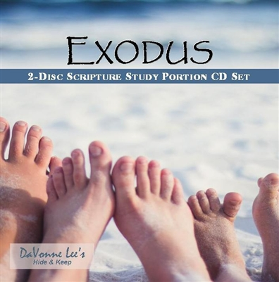 Exodus: Scripture Study Portion 2-Disc Cd Set