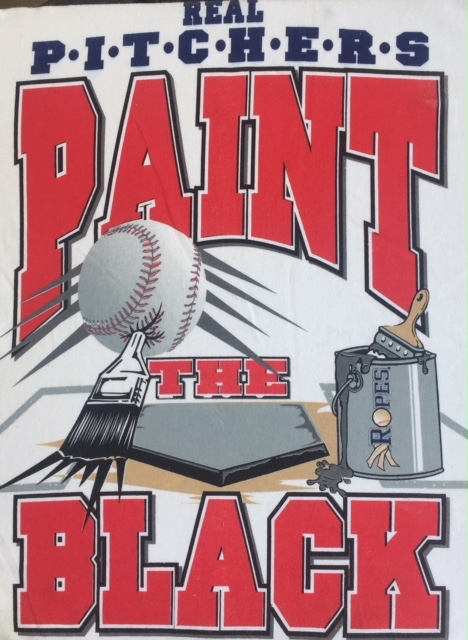 Real Pitchers Paint The Black