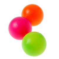 Roar Multicolored Ping Pong Like Balls.  Package of 12. Save 50%.