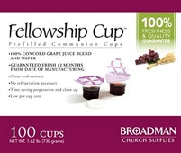 Fellowship Cup Prefilled Communion Cups (100 Count). Save 10%. OUT OF STOCK.
